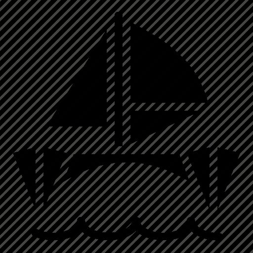 catamaran, sailboat, transportation, vehicle icon