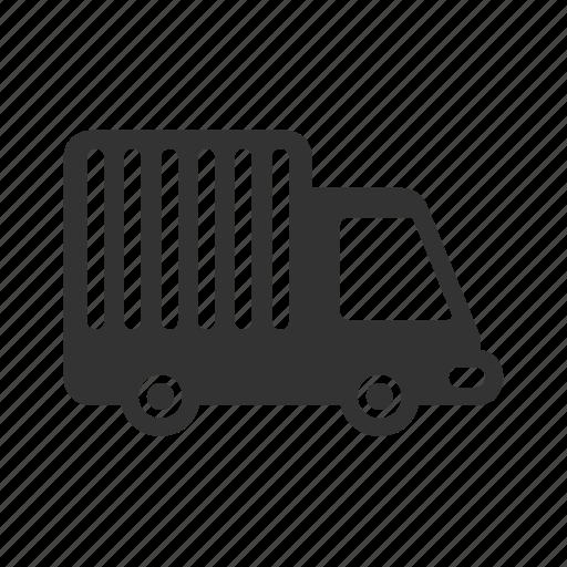 transportation, travel, truck, vacation icon