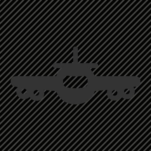 plane, transportation, travel, vacation icon