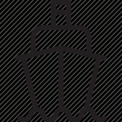 auto, automobile, car, ship, transport, transportation, vehicle icon