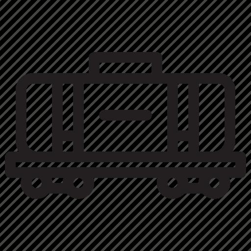 Automobile, car, transport, transportation, truck, vehicle, train station icon - Download on Iconfinder