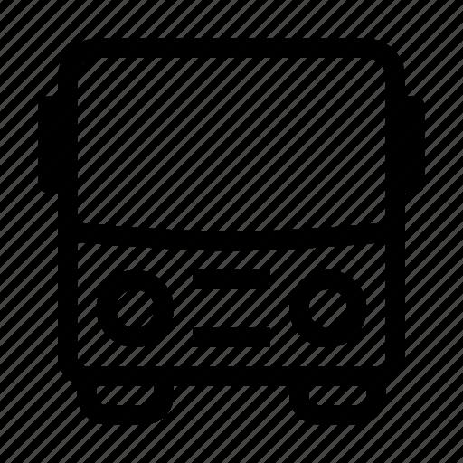 bus, city, school, transport, travel, vehicle icon