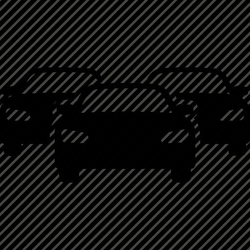 automobiles, car, cars, inventory, traffic, traffic jam, vehicles icon