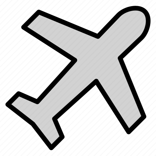Airplane, airplane fly plane transportationtravel, fly, plane, transportation, travel icon - Download on Iconfinder