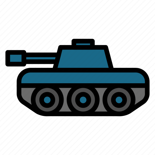 compact, military, panzer, tank, transportation, vehicle icon