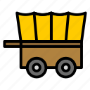 carriage, delivery, diligence, horse, transportation icon