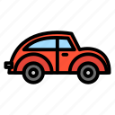 auto, car, transportation, vehicle, vw icon