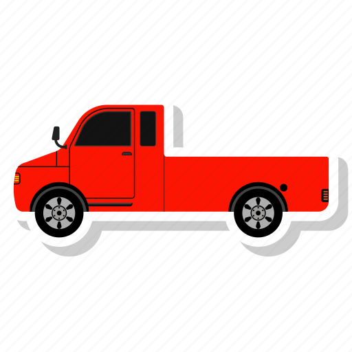 Delivery, machine, traffic, cloud, shipment, lorry, transport icon