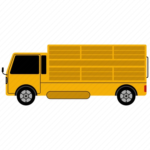 Delivery, freight, logistics, shipment, shipping, transportation, truck icon - Download on Iconfinder