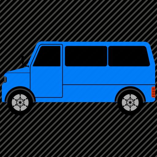 bus, school, transport, transportation, truck, van, vehicle icon