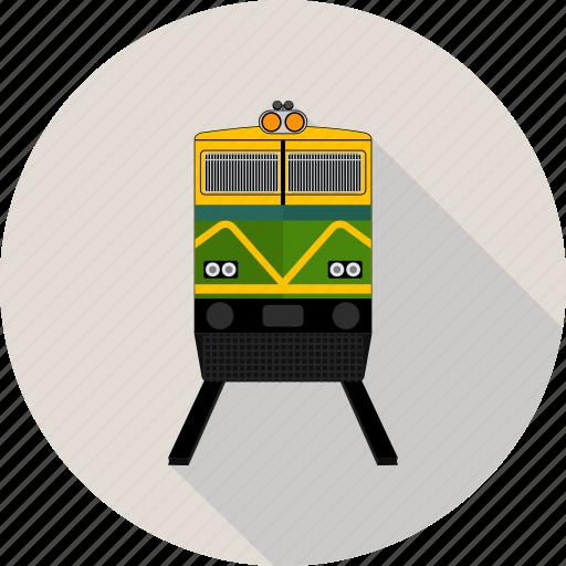 fast, rail, railway, speed, traffic, train, transport icon