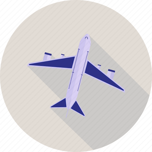 airplane, flight, fly, plane, trave icon