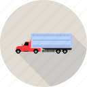 delivery, express, quick, shipping, transportation, truck icon