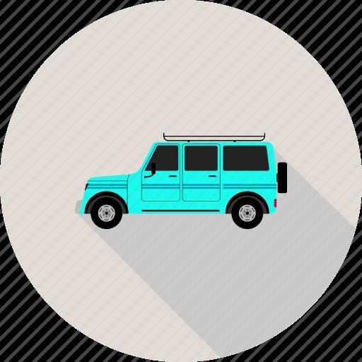 auto, automobile, car, jeep, landrover, suv, travel icon