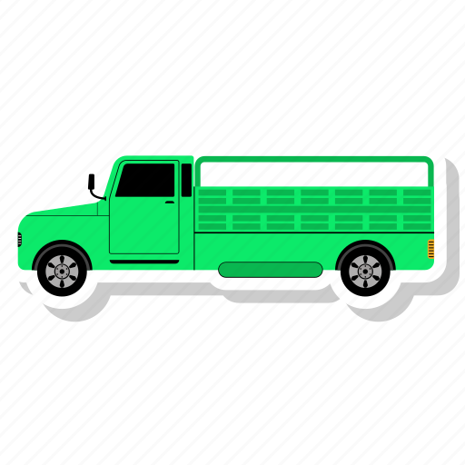 Delivery, transportation, truck, transport, vehicle icon