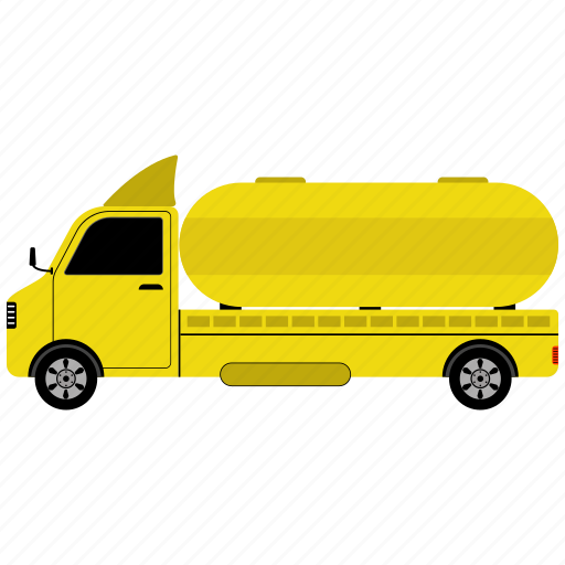fuel tanker truck, fuel truck, gas, gas truck, oil delivery, truck icon