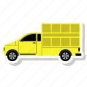 automobile, car, delivery, moving, shipping, truck, van icon