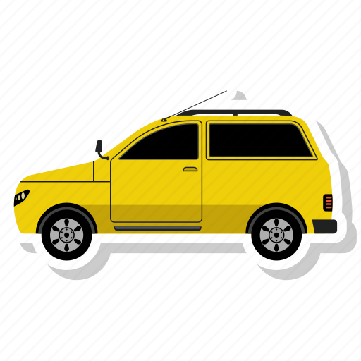 Jeep, car, transportation, transport, vehicle icon