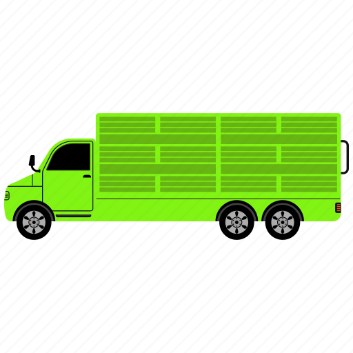 cloud, delivery, lorry, machine, shipment, traffic, transport icon