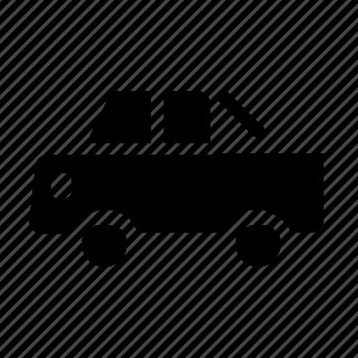 pickup, transportation, vehicle icon