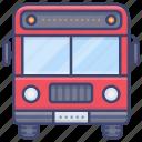 bus, tour, transport, vehical icon