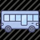 bus, tourist, transport, vehical icon
