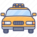 cab, taxi, transport, vehical icon