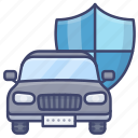 car, insurance, security, vehicle icon