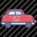 car, retro, transport, vehical icon