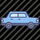 car, sedan, transportation, vehical icon