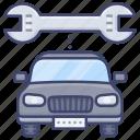 car, service, repair, vehicle icon