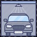 car, wash, service, washing icon