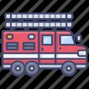 firetruck, fire, truck, emergency
