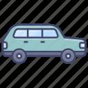 hatchback, suv, vehical, car icon
