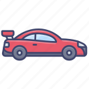 sports, sport, car, vehical icon