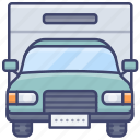 truck, cargo, vehicle, transport icon