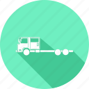 cement truck, truck roller icon