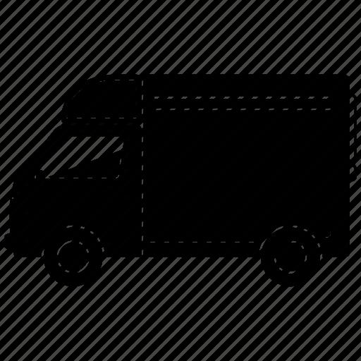 transport, transportation, travel, truck icon