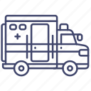 car, hospital, ambulance, emergency icon