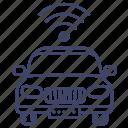 car, signal, transport, remote