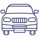 car, sport, utility, vehicle icon