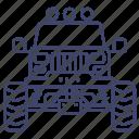monster, truck, car, transport icon