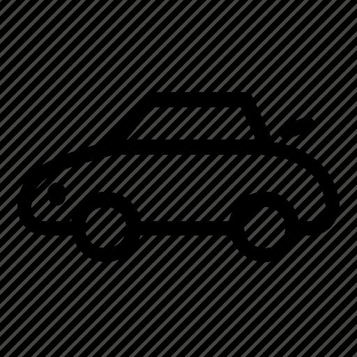 car, convertible, transportation, vehicle icon