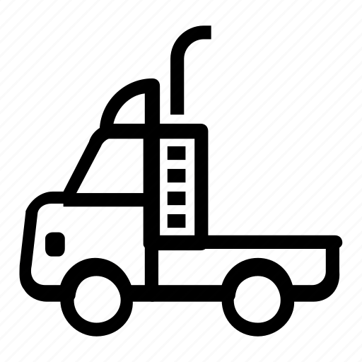 lorry, transportation, truck, vehicle icon
