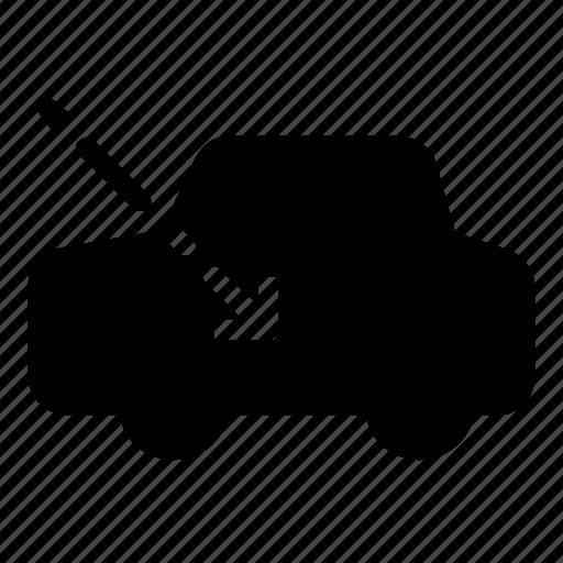 airflow, car, dashboard icon