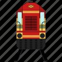 tram, bus, transportation, cable