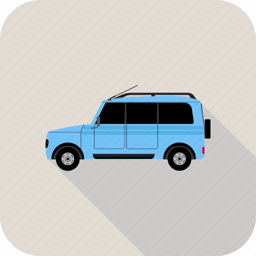 car, jeep, transportation, travel, van, vehicle icon