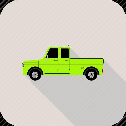 automobile, car, farmer, jeep, pickup, transport, vehicle icon