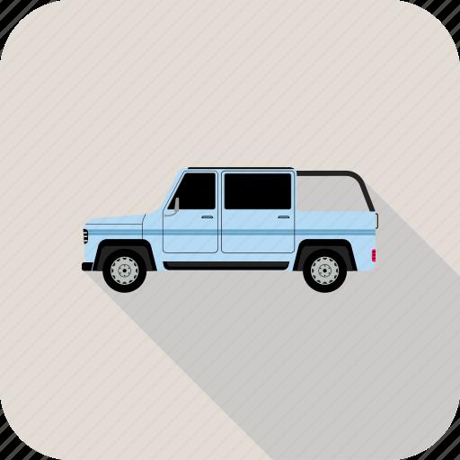 car, jeep, offroader, suv icon