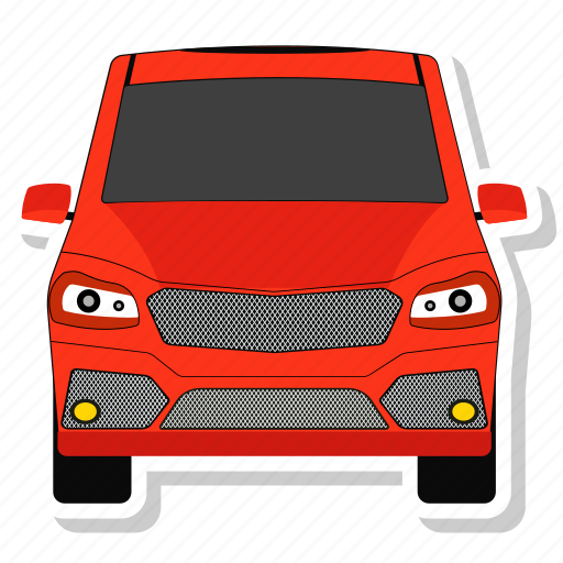 automobile, car, hatchback, vehicle icon
